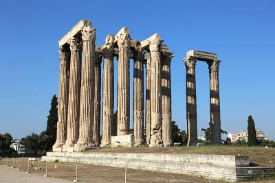 Temple of Olympian Zeus, Visit Athens
