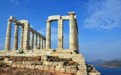 Temple of Poseidon near Athens