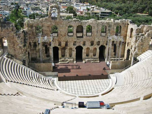Theater of Herod Atticus, Athens Visit