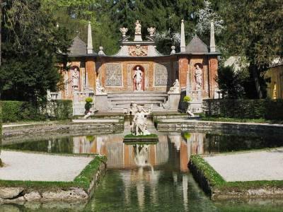 Trick Fountains, Hellbrunn Palace, Visit Salzburg
