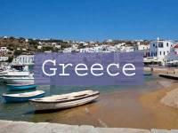 Visit Greece Title Page, Mykonos
