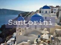 Visit Santorini Title Page