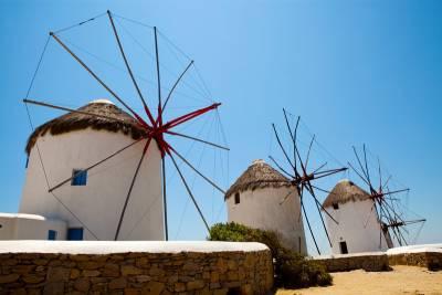 Windmills, Visit Mykonos