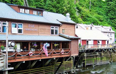 Creek St, Visit Ketchikan