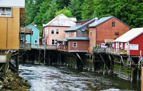 Creek Street, Visit Ketchikan