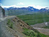 Denali Bus Tour Route, Denali Day Tour