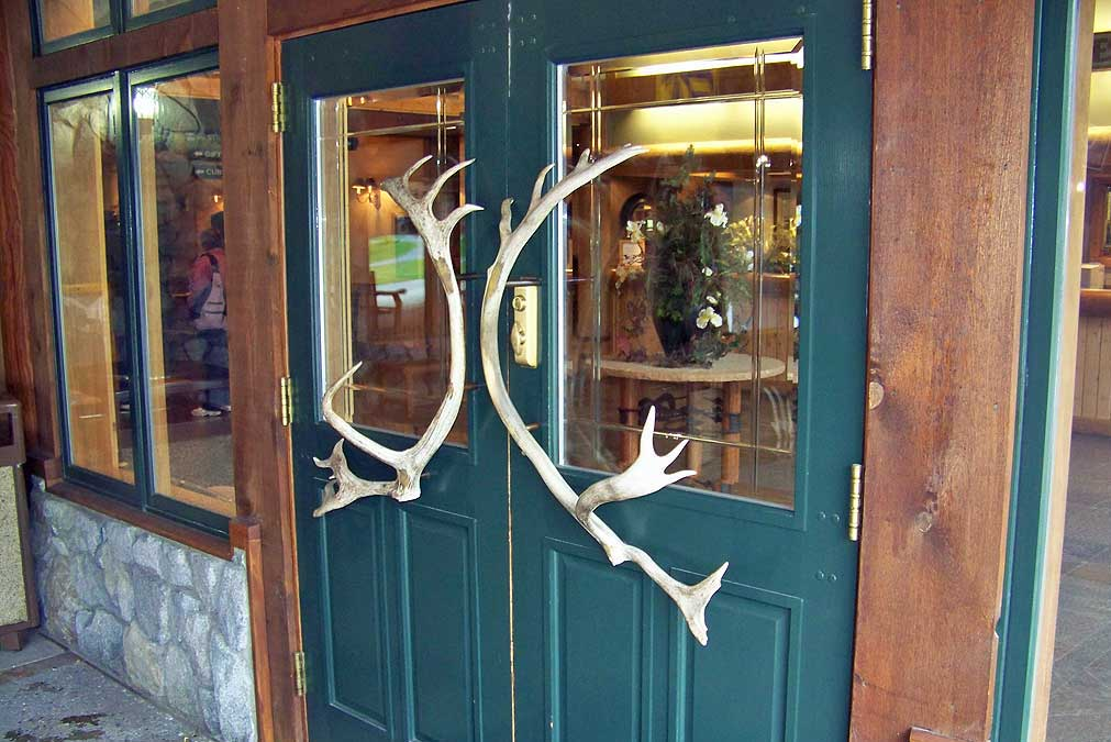 Front Door, Mt McKinley Princess Wilderness Lodge