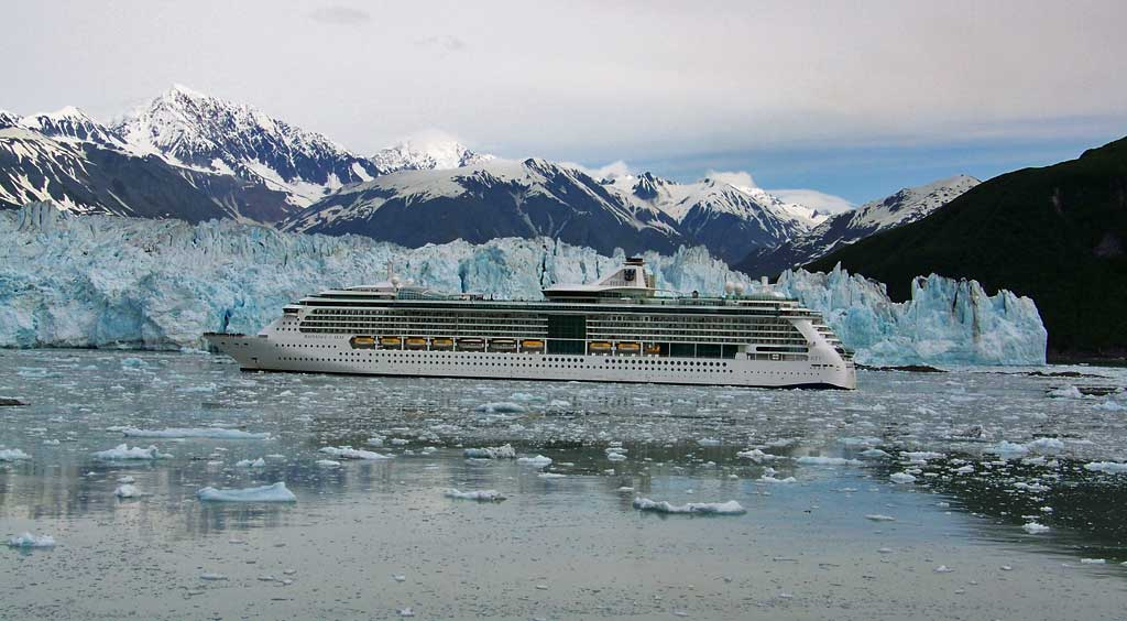 Hubbard Glacier, Radiance of the Seas