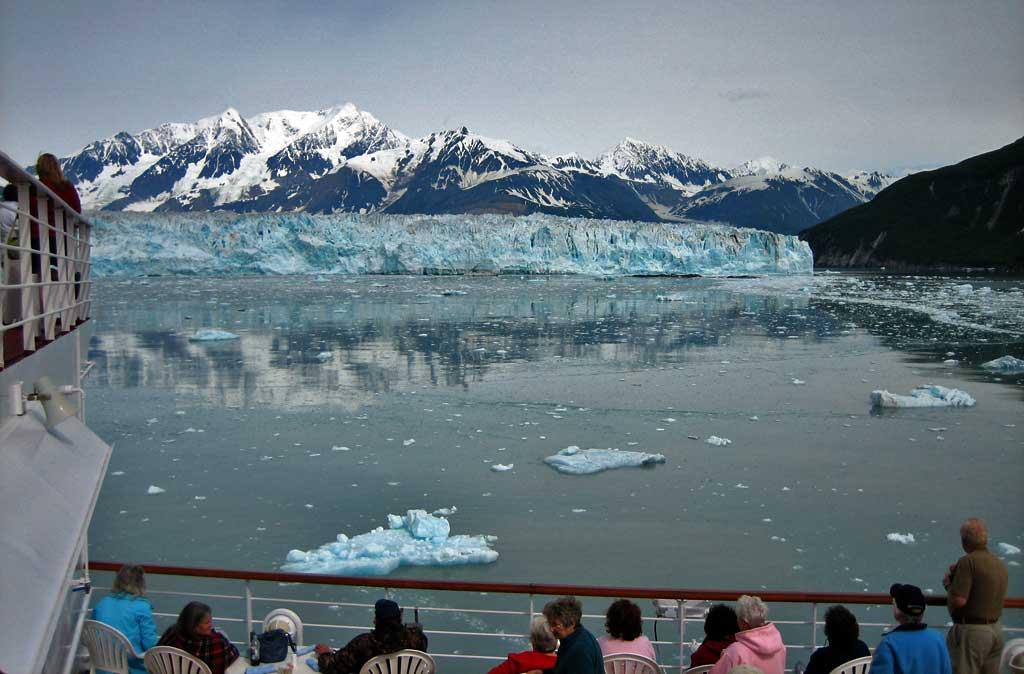 Hubbard Glacier from the Ryndam