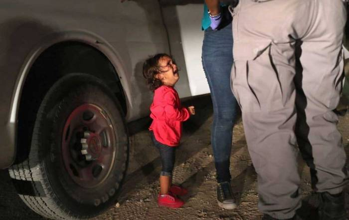 Immigrant Child Crying, Help Parents Find Their Children