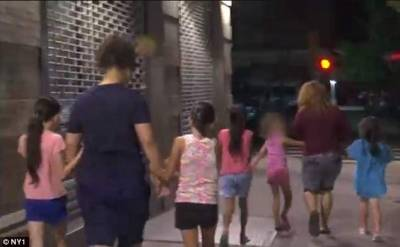 Immigrant Girls moved after Midnight, New York, Help Parents Find Their Children