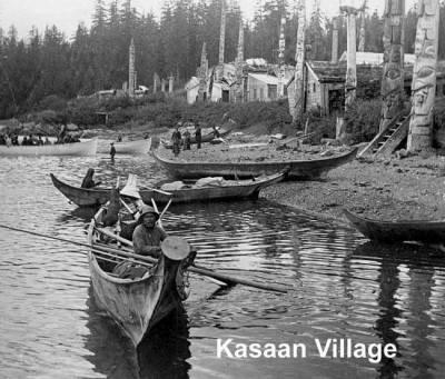 Kasaan Village Historic Photo