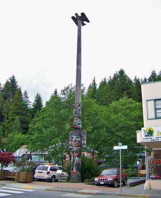 Totem Pole, Visit Ketchikan