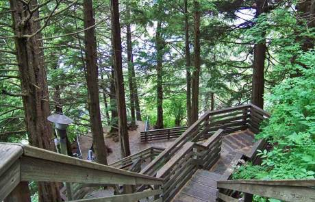 Ketchikan Walking Tour Path