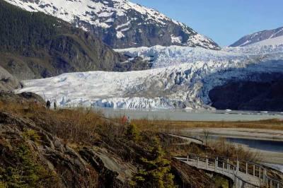 Mendenhall Glacier near Juneau, Visit Juneau