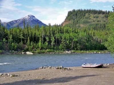Nenana River near Denali National Park