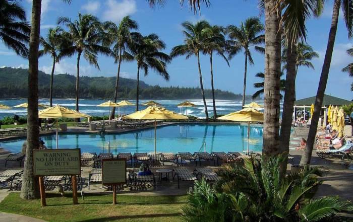 Pool, Turtle Bay Resort