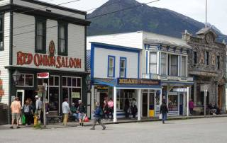 Red Onion Saloon, Skagway, Star Princess Alaska Cruise