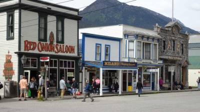 Red Onion Saloon, Skagway, Star Princess Alaska Cruise