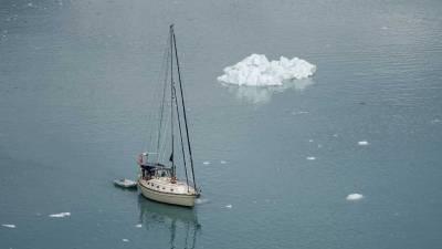 Sailboat, Glacier Bay, Star Princess Alaska Cruise