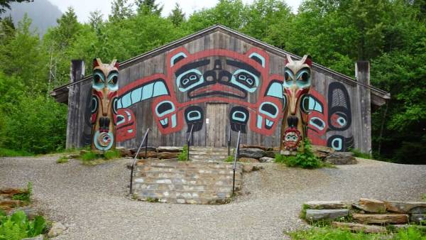 Saxman Village Clan House, Visit Ketchikan, Star Princess Alaska Cruise
