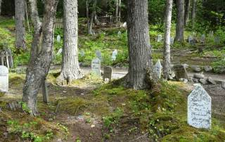 Skagway Gold Rush Cemetery, Star Princess Alaska Cruise