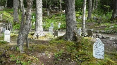 Skagway Gold Rush Cemetery, Star Princess Alaska Cruise