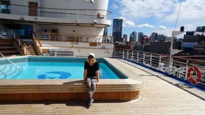 Star Princess Pool, Alaska Cruise, Vancouver