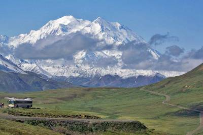 Stony Dome Viewpoint, Denali Day Tour