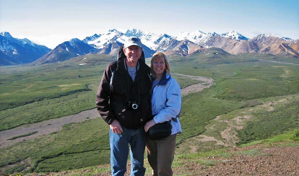 Tim and Viki, Denali Day Tour