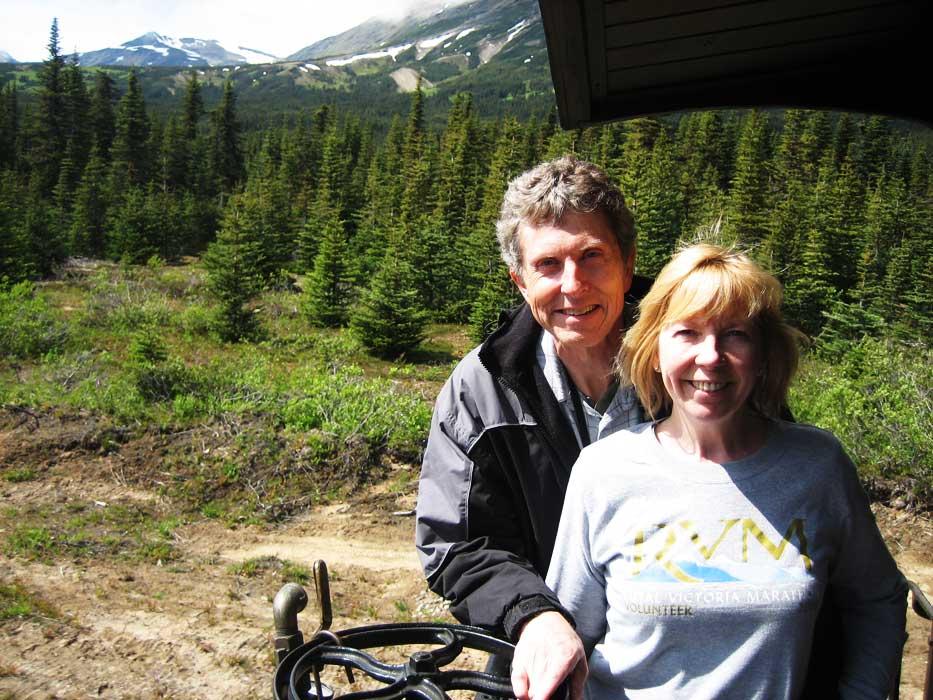Tim Viki, White Pass Summit, White Pass Yukon Route Railway