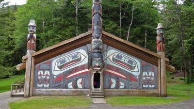 Totem Bight Clan House, Ketchikan, Star Princess Alaska Cruise