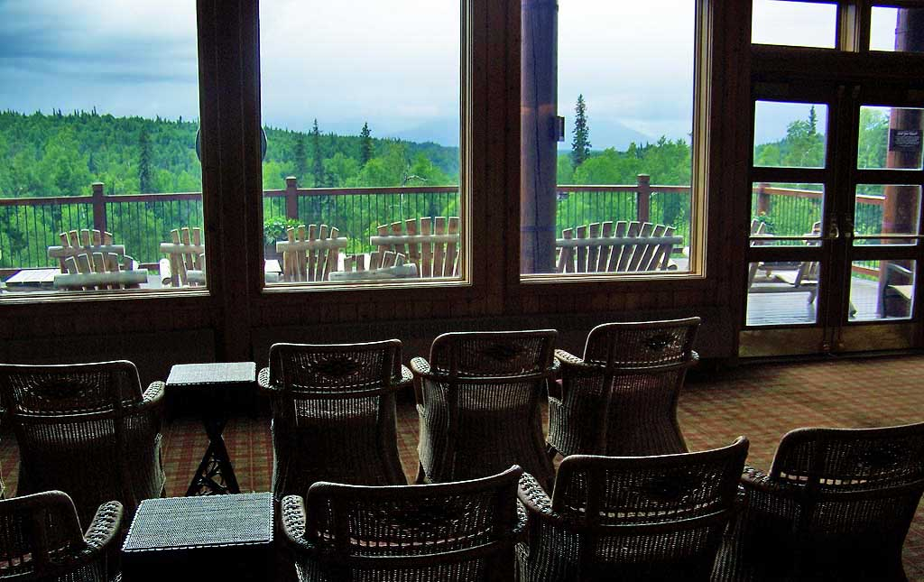 Viewing Deck, Mt McKinley Princess Wilderness Lodge