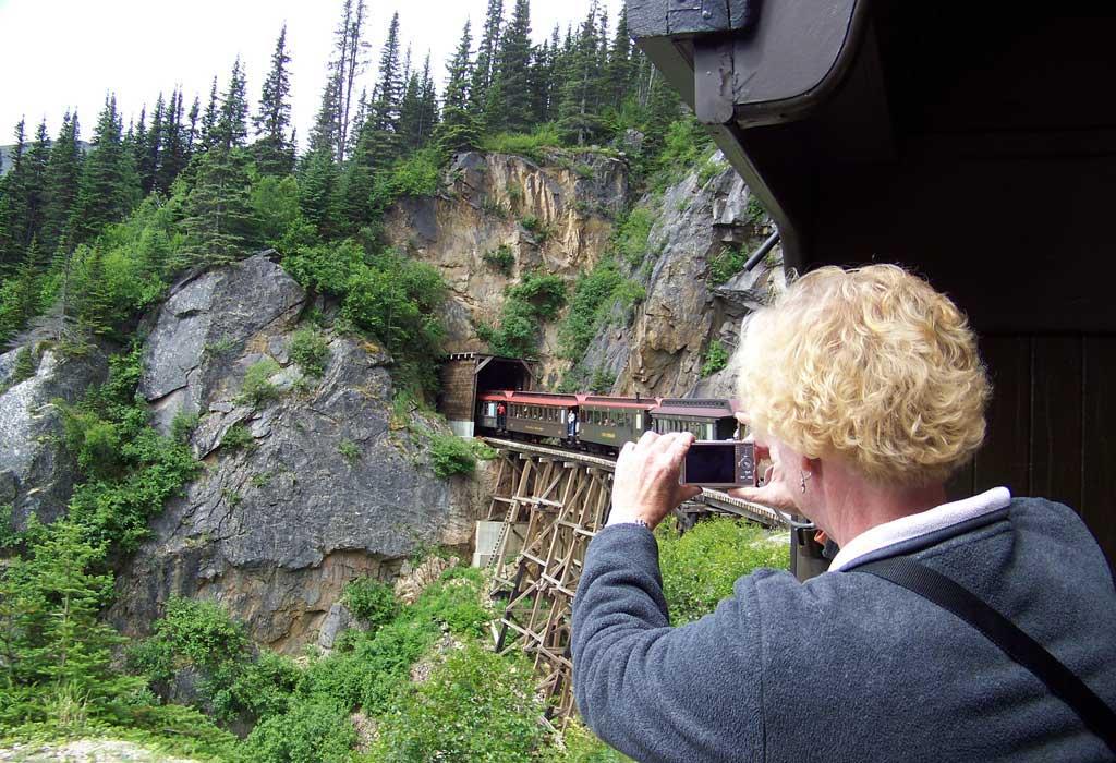 White Pass Yukon Route Railway Tunnel
