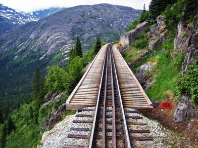 White Pass Yukon Route, Suspended Track, Visit Skagway