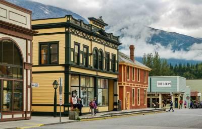 Wood Buildings, Visit Skagway