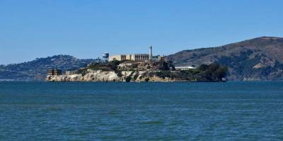 Alcatraz from Fisherman's Wharf, Visit San Francisco