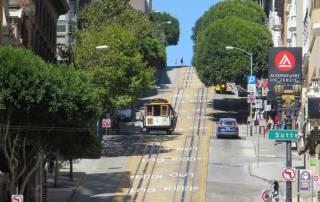 Cable Car, San Francisco, Yosemite Rim Fire Visit