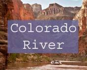 Colorado River Rafting Title Page