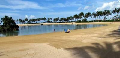 Duke Kahanamoku Lagoon, Hilton Hawaiian Village, Waikiki