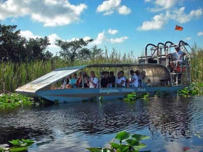 Everglades Airboat near Miami