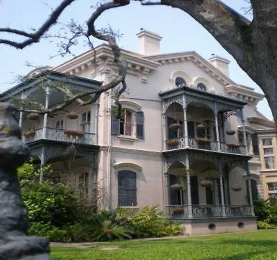 Garden District Homes, Visit New Orleans