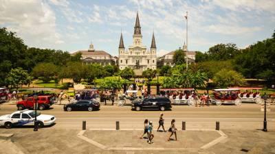 Jackson Square, Visit New Orleans