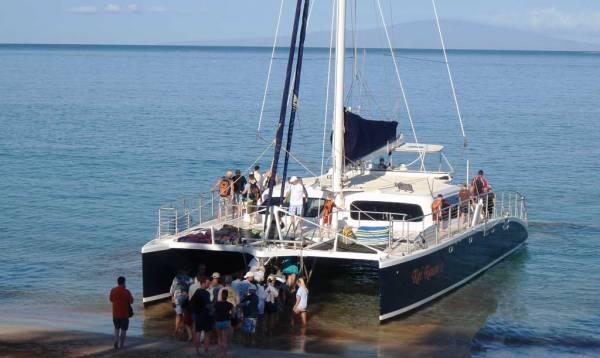 Kai Kanani Catamaran, Wailea Beach, Molokini Snorkel
