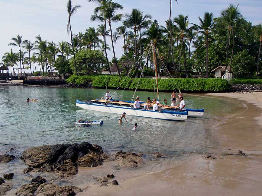 Kona Tender Harbor Bay, Big Island Tour