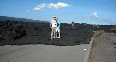 Lava Road Block, Chain of Craters, Big Island Tour