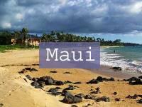 Maui Title Page