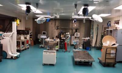 Medical Equipment, Georgia Aquarium