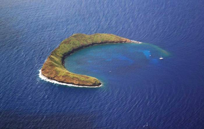 Molokini Crater, Extinct Volcano