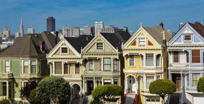 Painted Ladies, Alamo Square, Visit San Francisco